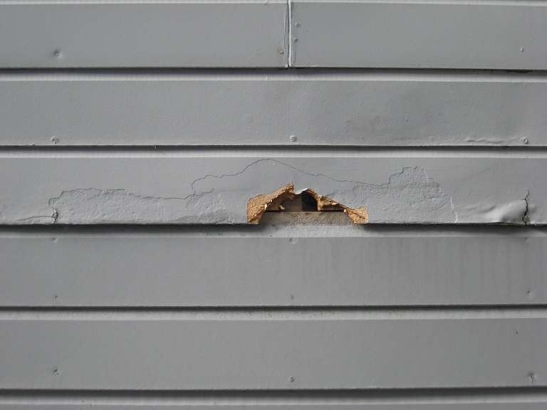 Exterior rotted wood repair tips for your home - Best exterior paint for wood siding ...