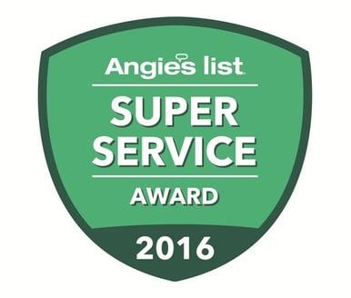 Angie's List Super Service Award Logo