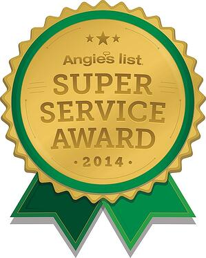 Pittsburgh Angies List Super Service Award Logo